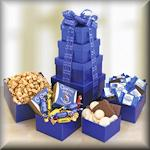 Blue Box Gift Tower